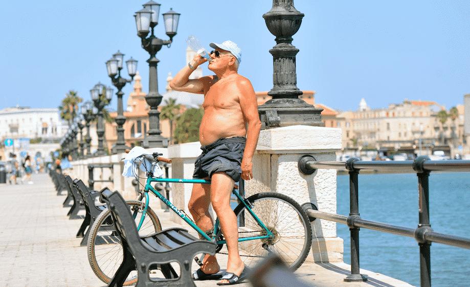 caldo record sicilia