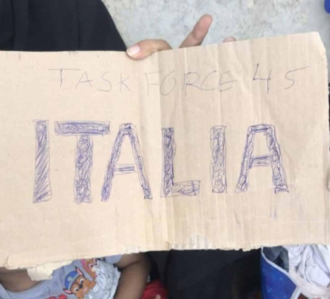 afghani salvati italiani