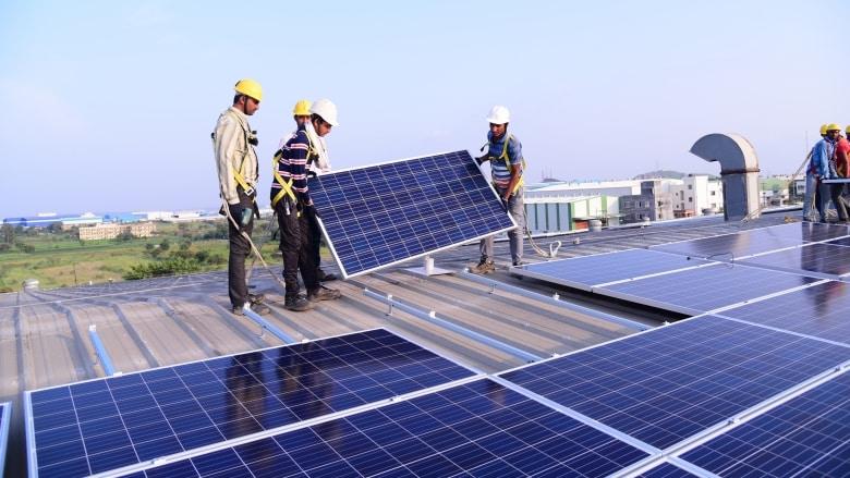 centrali solari congo
