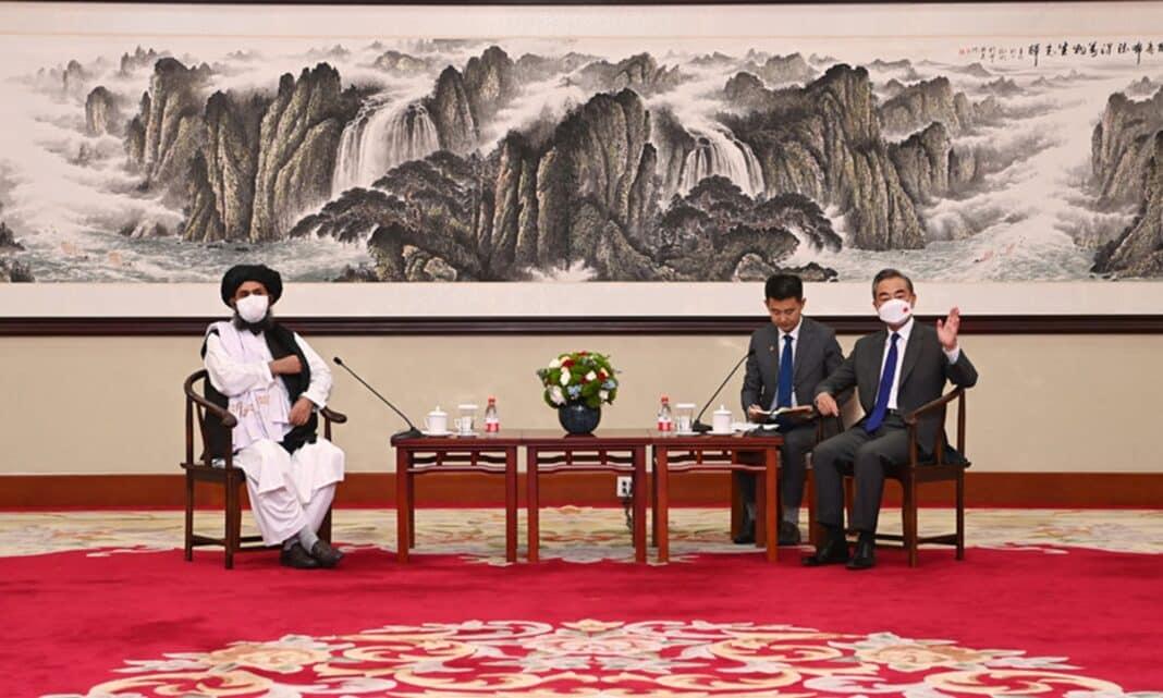 Cina Afghanistan talebani