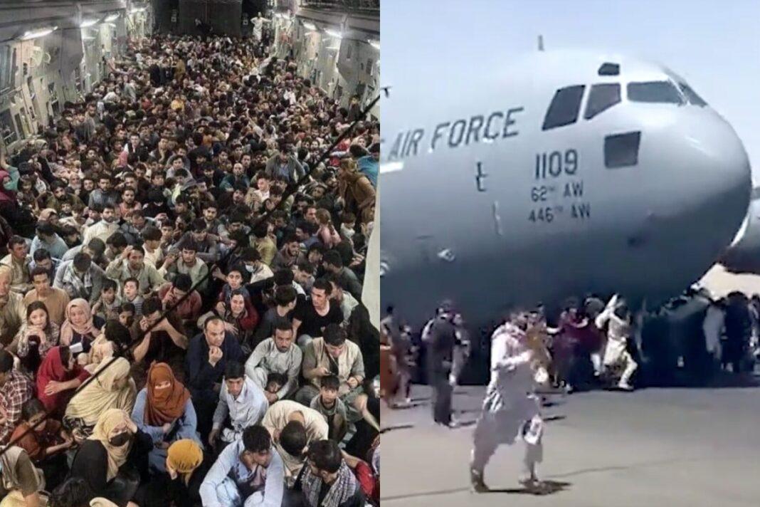 afghanistan aereo c-17 afgano morto