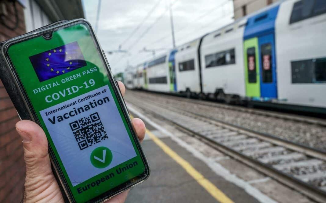 no green pass treni
