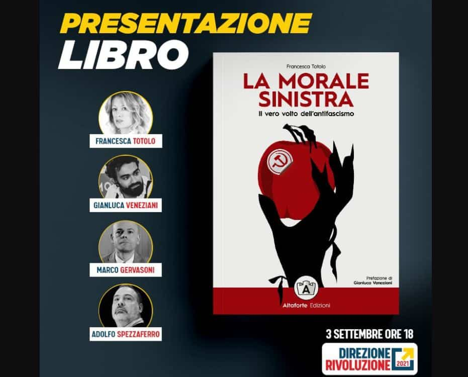 Francesca Totolo, morale sinistra