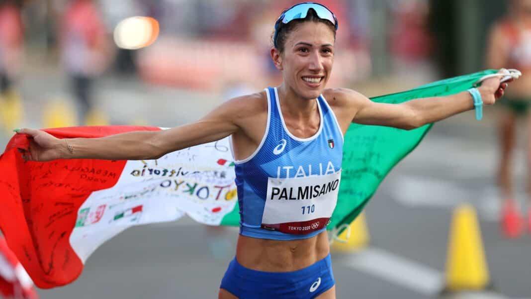 Italia record Palmisano, oro