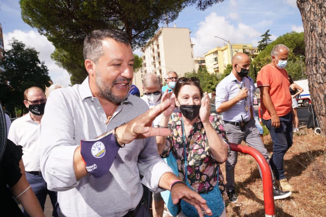 Green pass Salvini