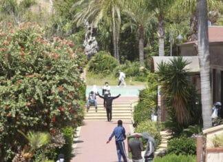 villa Sikania immigrati tunisini