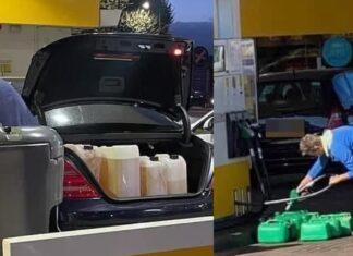Benzina Gran bretagna