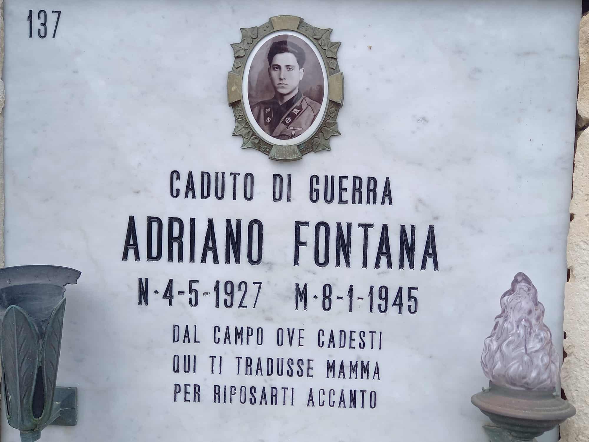 """""""Adotta un caduto di guerra"""": la splendida iniziativa della Lamba Doria"""