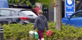 benzina Regno Unito, crisi