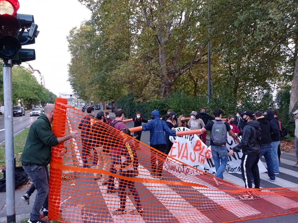 centri sociali Milano, scontri