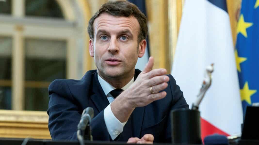Francia green pass, Macron