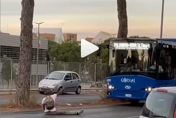 Nigeriano strada roma