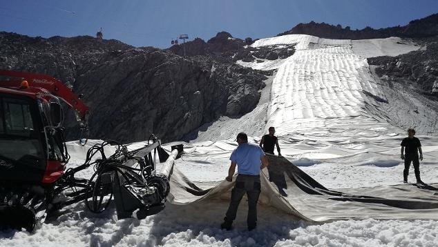 Operaio ghiacciao presena