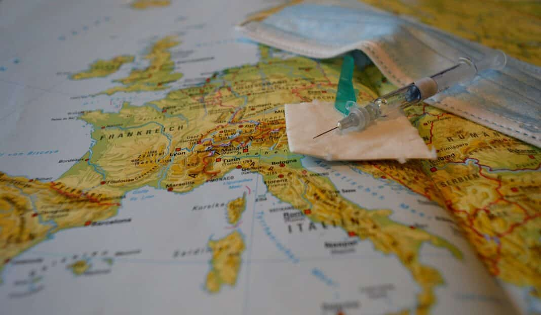 Paesi europei green pass, Ue