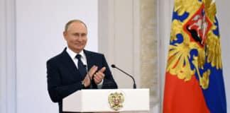 Russia partito Putin, stravinto