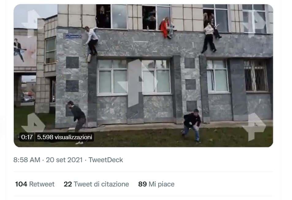 russia università perm, attacco