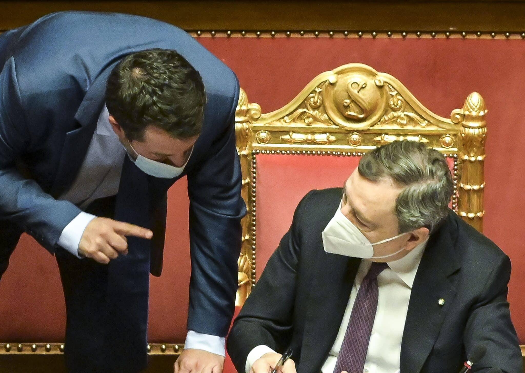 Draghi incontrerà Salvini. Ecco perché la Lega è costretta a restare al  governo - Il Primato Nazionale