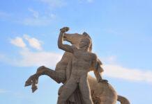 Giorgio Locchi, statua