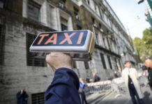 Sciopero taxi 80% conducenti aderisce
