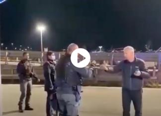 polizia trieste lacrimogeni