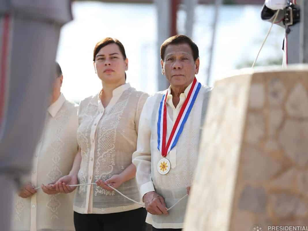 Duterte, con figlia