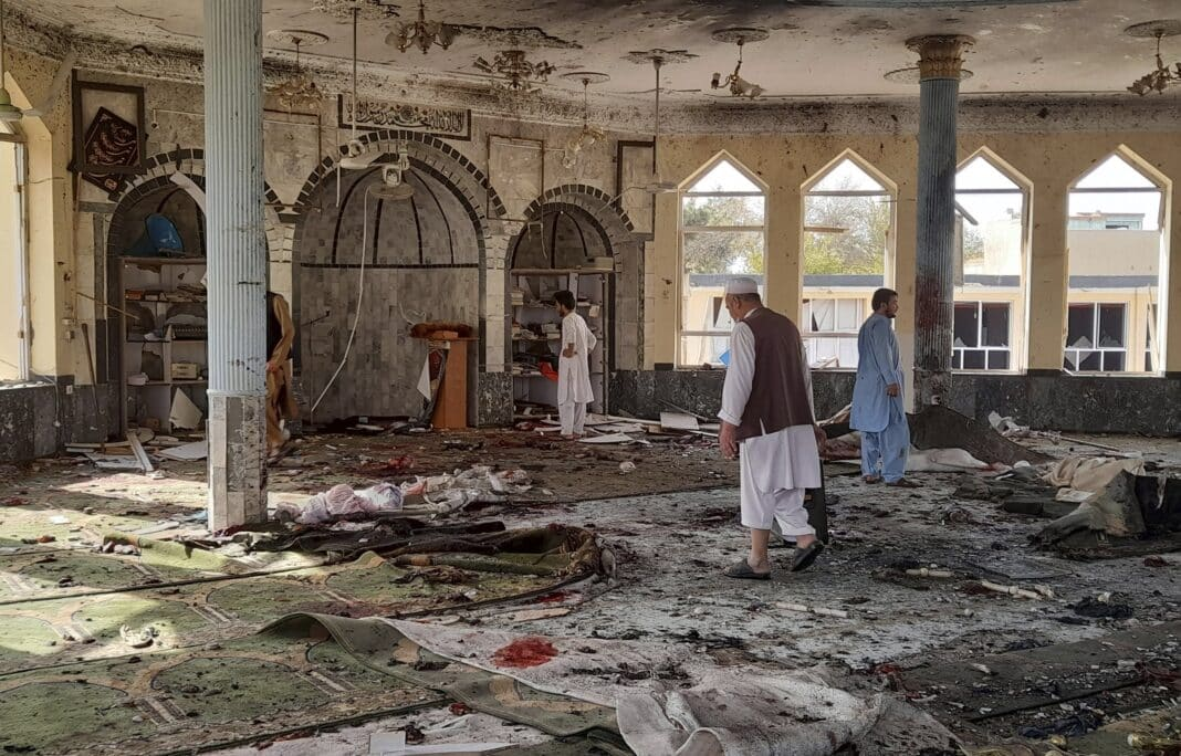 Afghanistan moschea, attacco