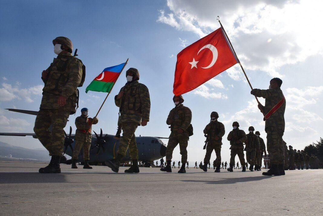 Turchia Azerbaigian, manovre